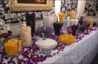 Light Purple Candy Table